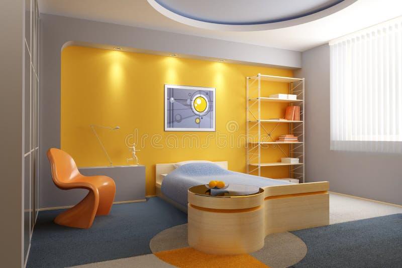 комната s детей нутряная иллюстрация штока