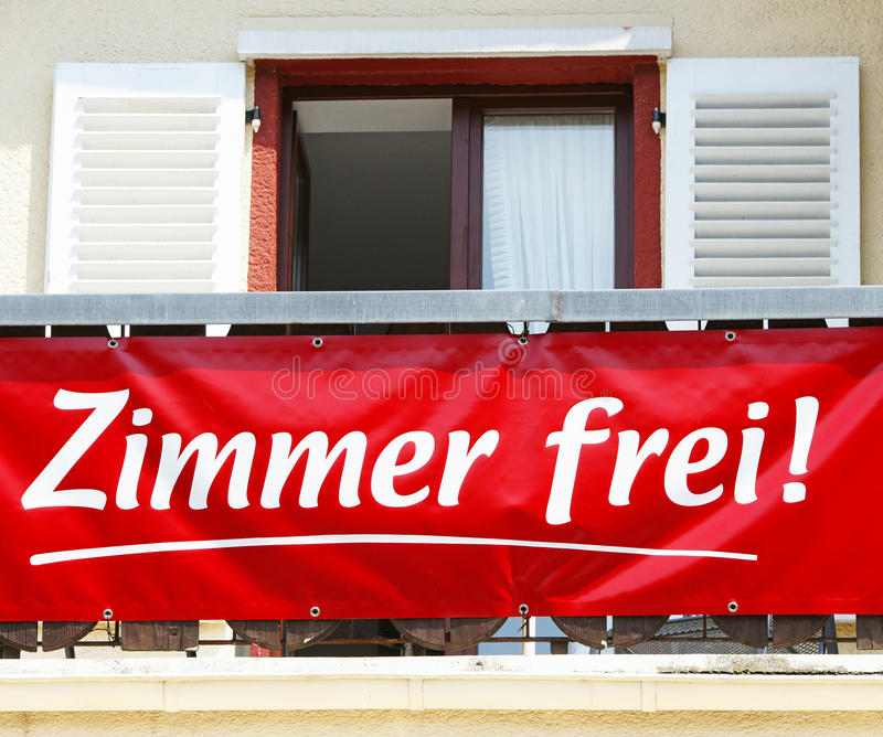 Download комнаты ренты к стоковое фото. изображение насчитывающей немецко - 18395912