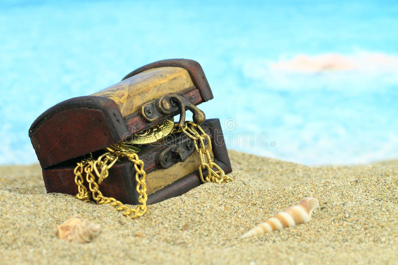 Комод сокровища стоковое фото rf