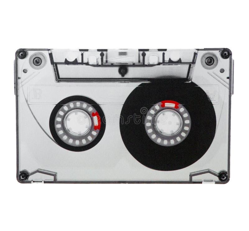 Компактная кассета изолированная на белой предпосылке стоковая фотография
