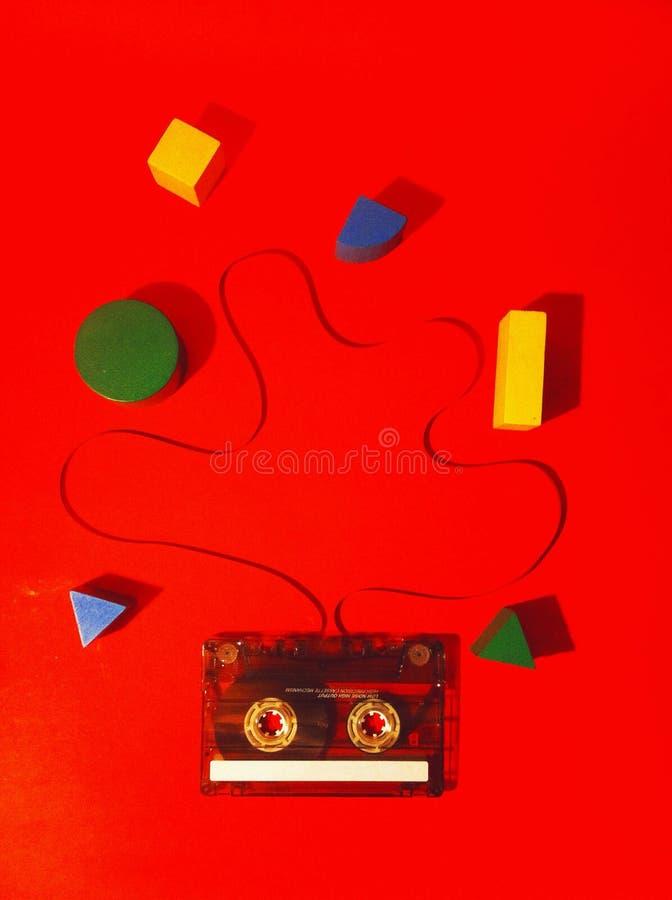 Компактная кассета стоковые фото