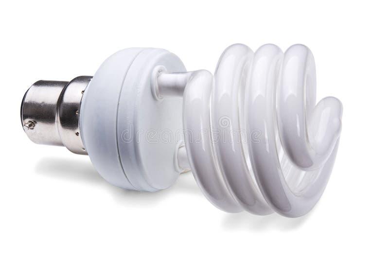 компактная люминесцентная лампа стоковое изображение