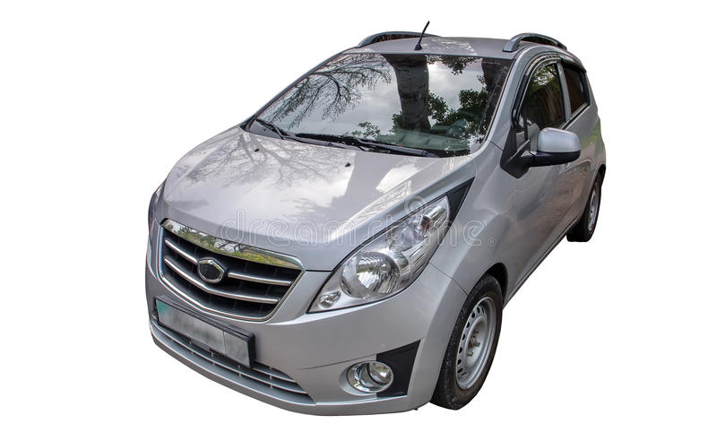 Компактный автомобиль стоковое изображение