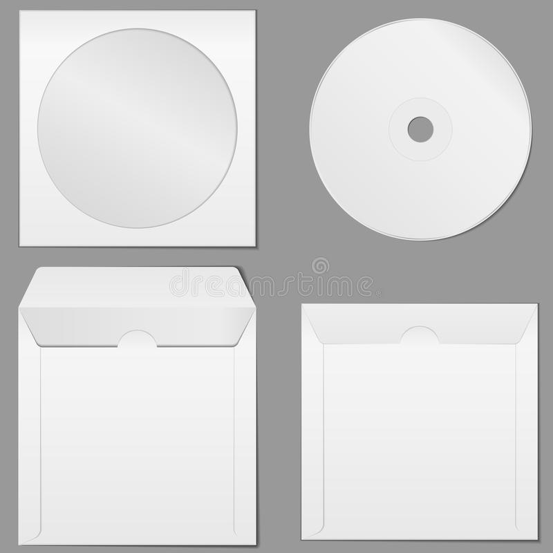 компактный диск случая бесплатная иллюстрация