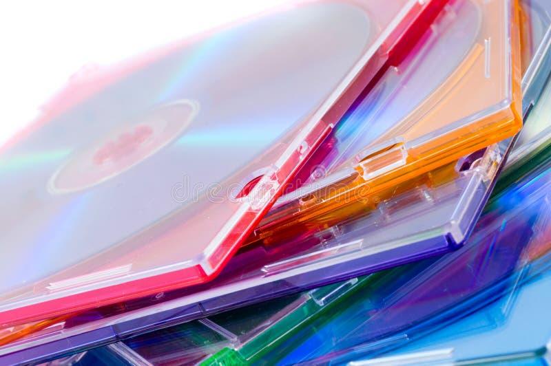 компактный диск случая стоковое изображение
