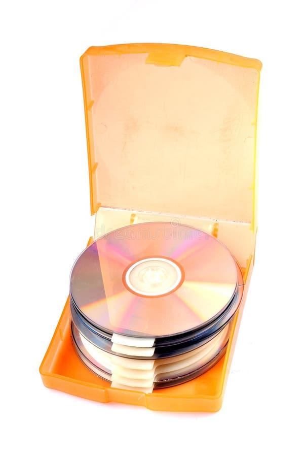 компактный диск s случая стоковое фото