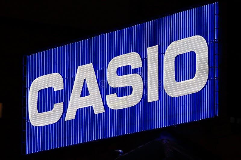Компания по продаже электроники Япония Casio японская стоковые изображения rf
