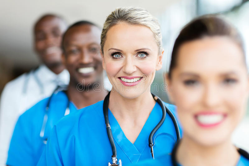 Компановка медицинских работников стоковые изображения rf