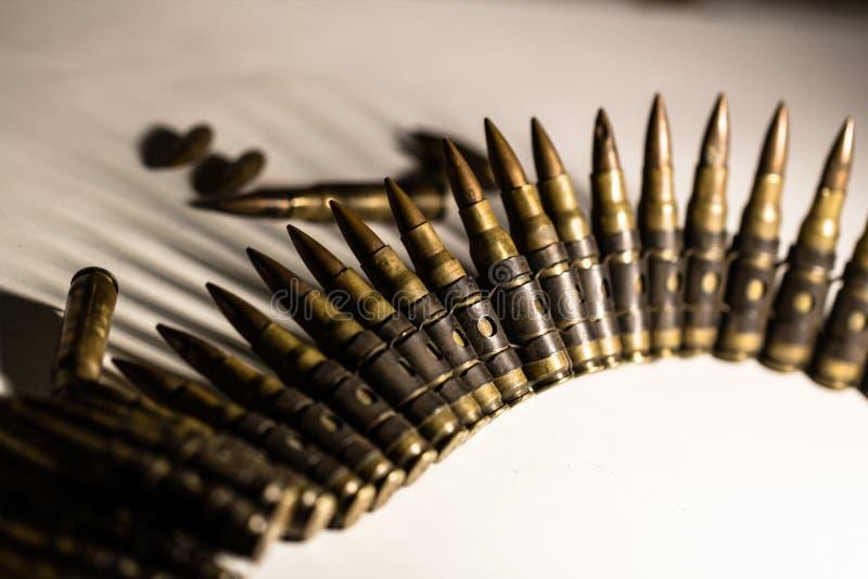 Компановка пули как оборудование агрессии стоковая фотография