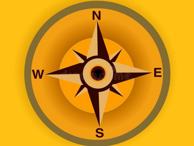 компас 03 иллюстрация штока