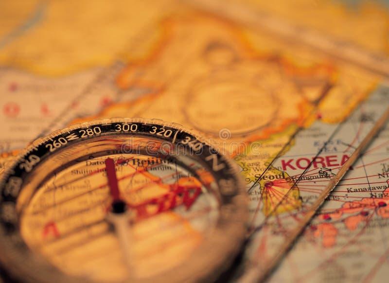 Download компас стоковое фото. изображение насчитывающей корея, компас - 77372