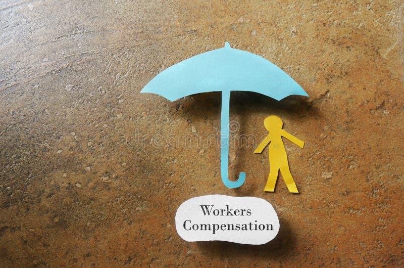 Компенсация работников стоковые фото