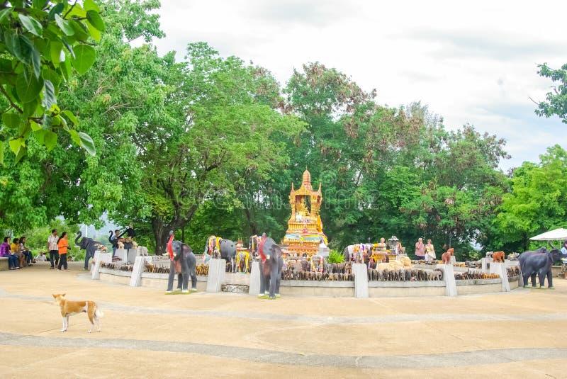 Комплексы виска в Таиланде Буддийские виски в Бангкоке стоковые изображения rf