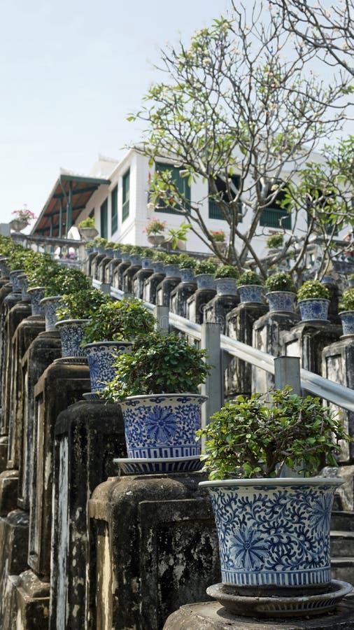 Комплекс виска Phra Nakon Kiri в Таиланде стоковое изображение