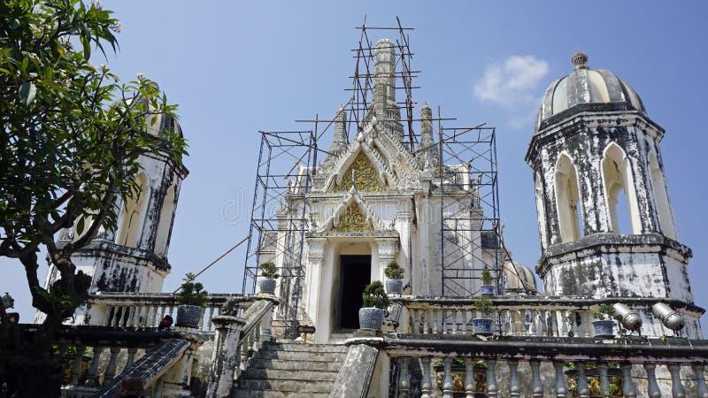 Комплекс виска Phra Nakon Kiri в Таиланде стоковое изображение rf