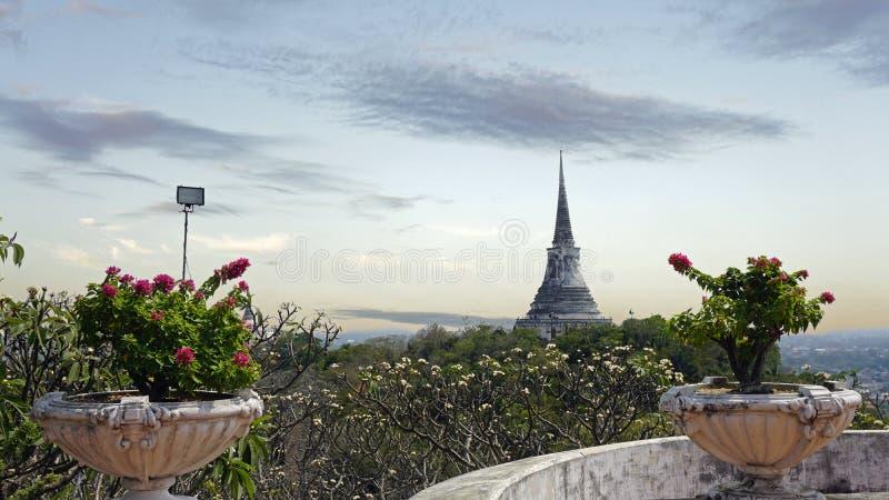 Комплекс виска Phra Nakon Kiri в Таиланде стоковое фото rf