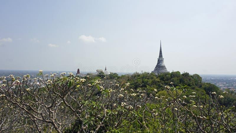 Комплекс виска Phra Nakon Kiri в Таиланде стоковая фотография