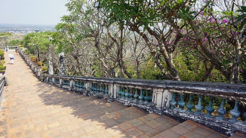 Комплекс виска Phra Nakon Kiri в Таиланде стоковое фото