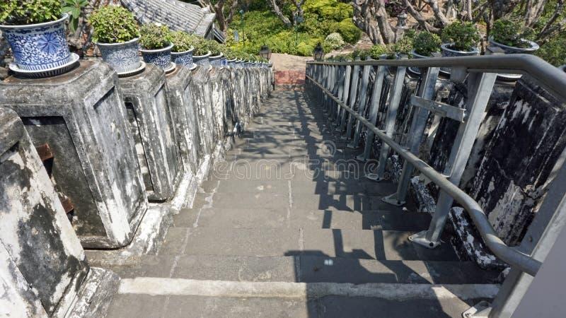 Комплекс виска Phra Nakon Kiri в Таиланде стоковые фотографии rf