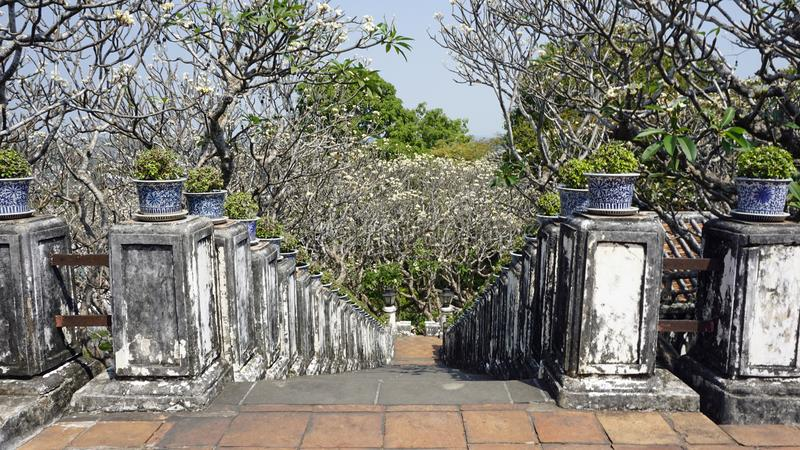 Комплекс виска Phra Nakon Kiri в Таиланде стоковые фото