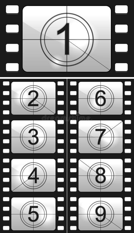 Комплекс предпусковых операций фильма бесплатная иллюстрация