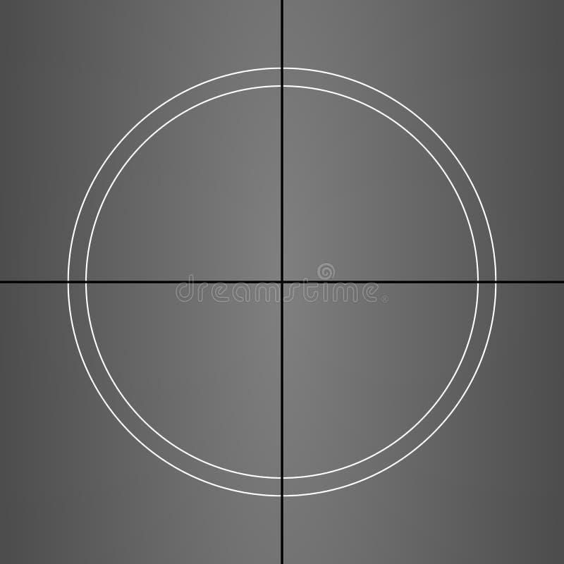 Комплекс предпусковых операций фильма grunge вектора, каждая рамка различная иллюстрация штока