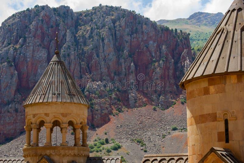Комплекс Noravank в долине Amaghu, провинции Vayots Dzor, Армении стоковая фотография rf