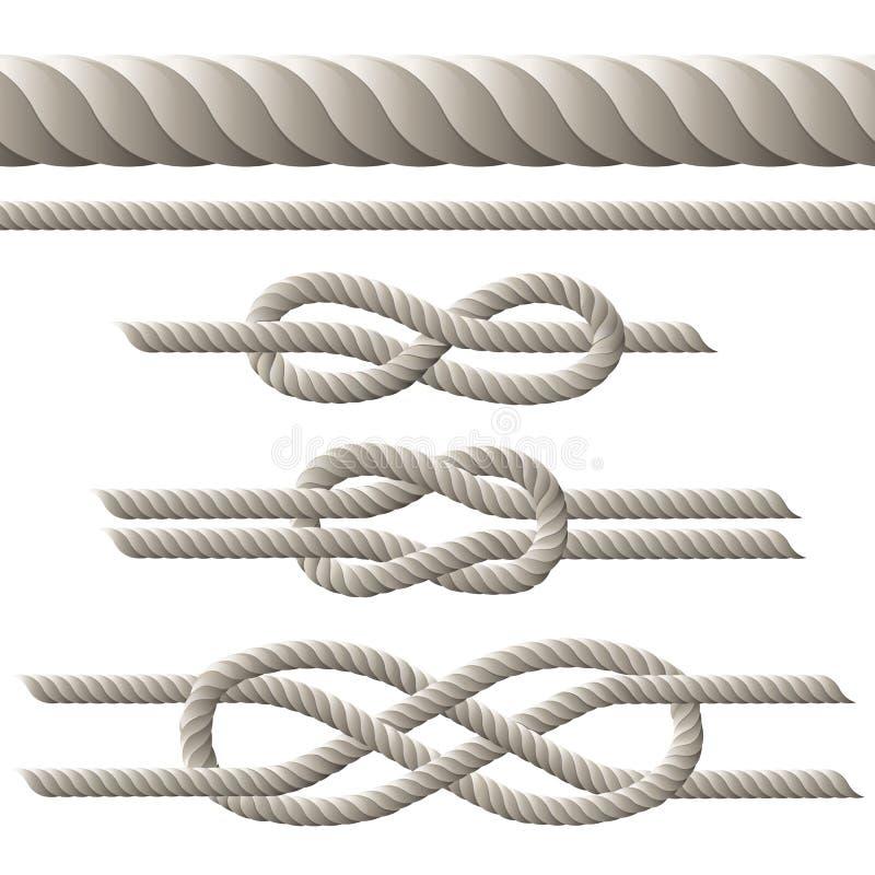 Комплект веревочки бесплатная иллюстрация