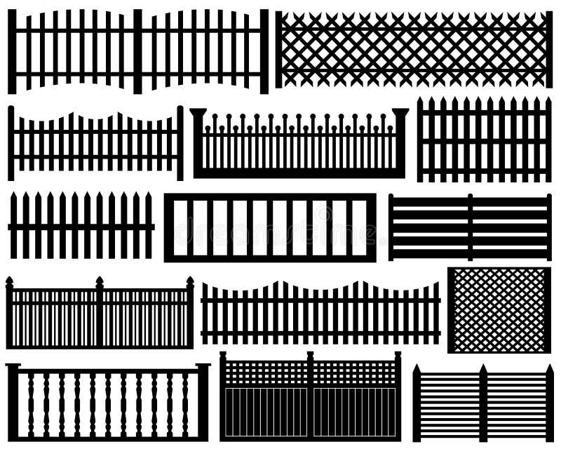 Комплект загородки иллюстрация штока
