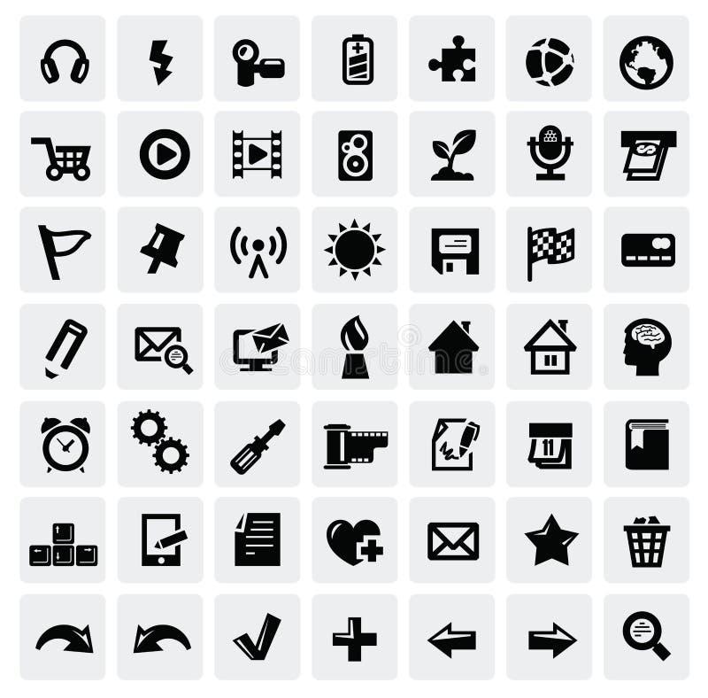 Комплект иконы сети