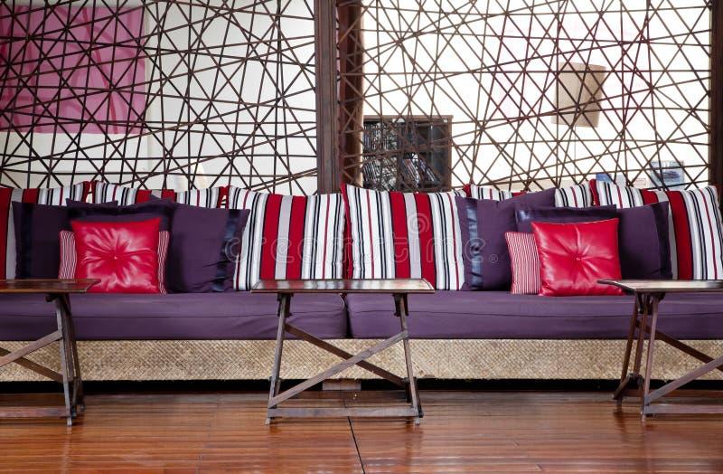 комплект комнаты мебели живущий стоковое изображение rf