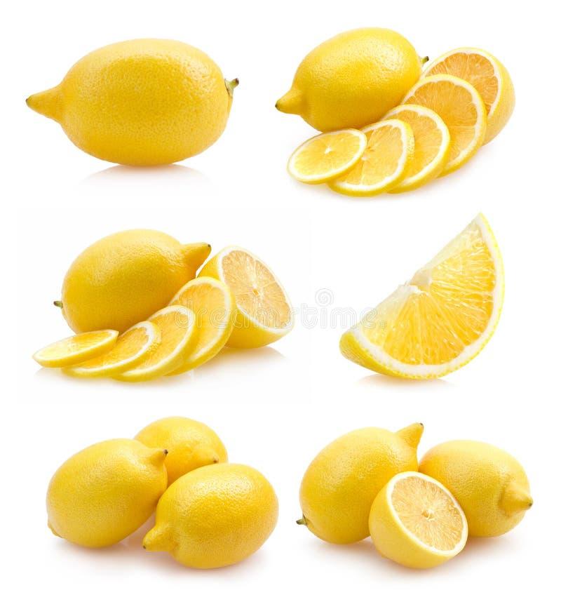 комплект лимона изображений стоковое изображение