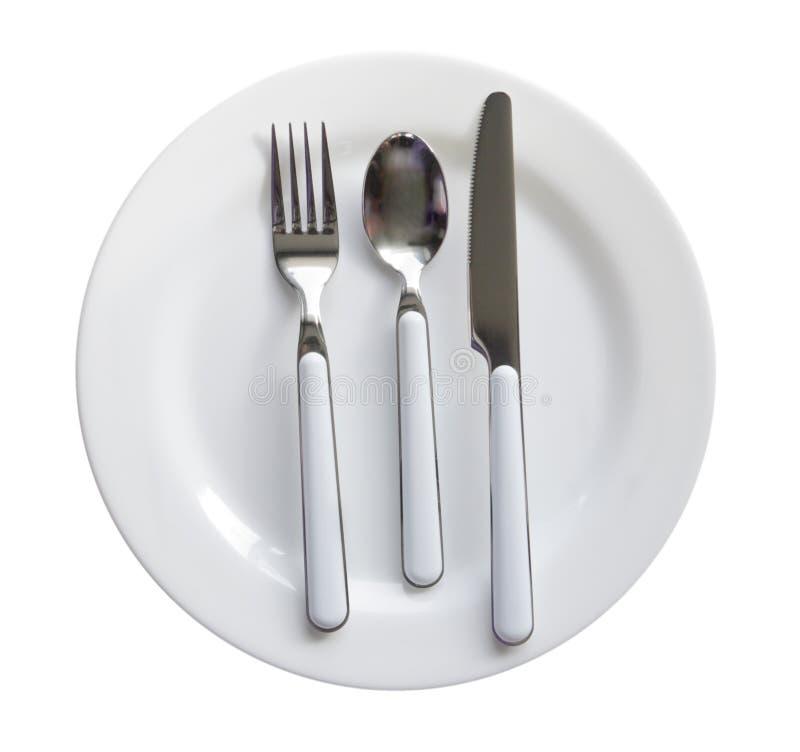 Комплект обедающего Cutlery стоковое изображение