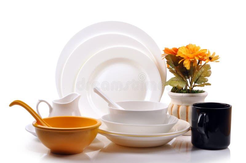 комплект обеда стоковое фото rf