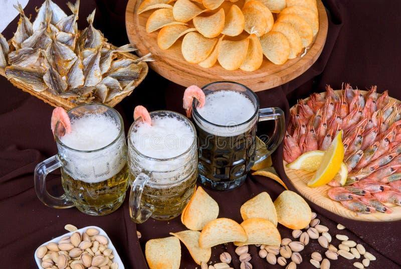 Комплект пива стоковое изображение