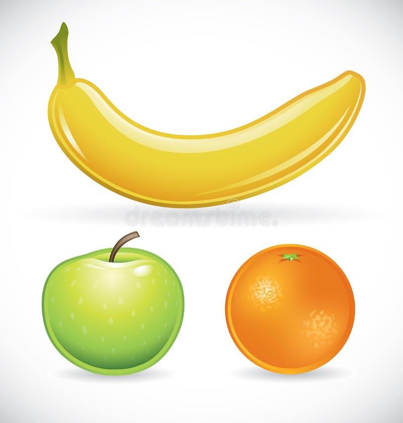 комплект плодоовощ бесплатная иллюстрация