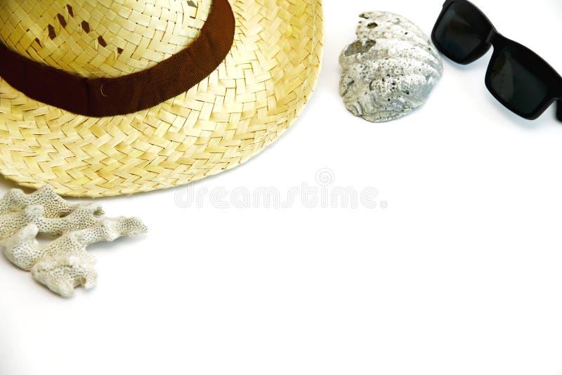 Комплект пляжа лета стоковые фото