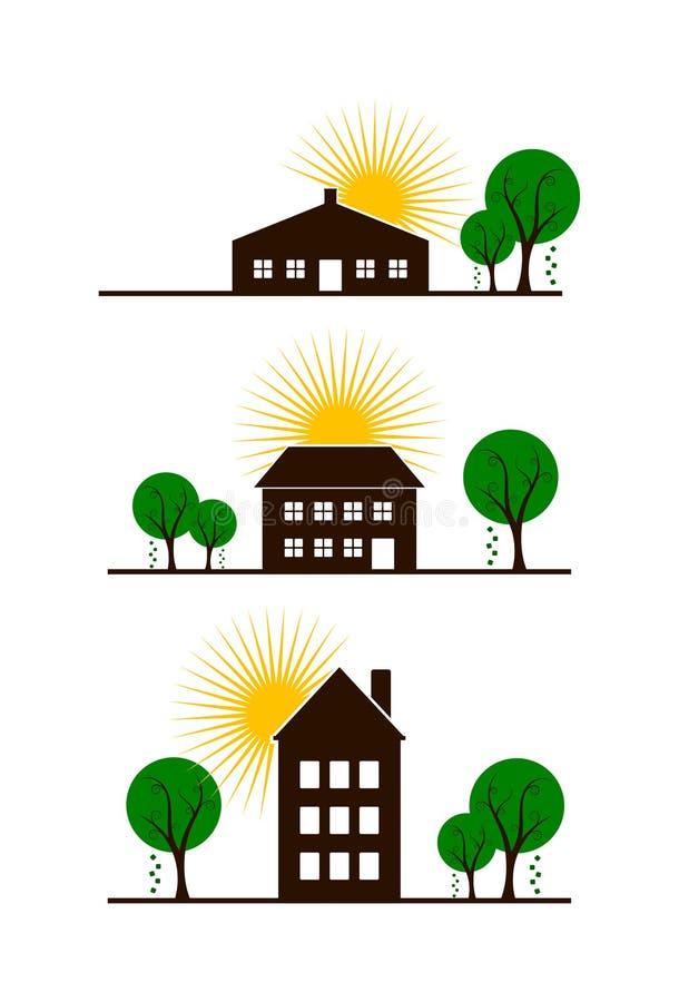 Комплект принципиальных схем недвижимости (2) стоковая фотография