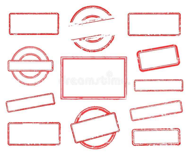 Комплект пустых избитых фраз иллюстрация вектора