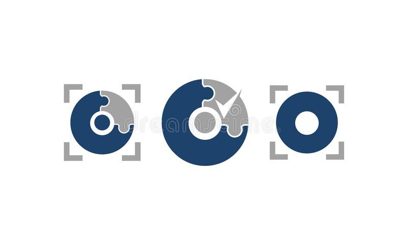 Комплект шаблона обслуживания технологии точности бесплатная иллюстрация