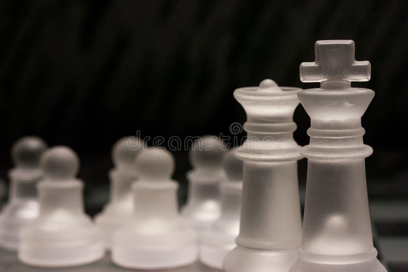 Комплект шахмат стоковое фото rf