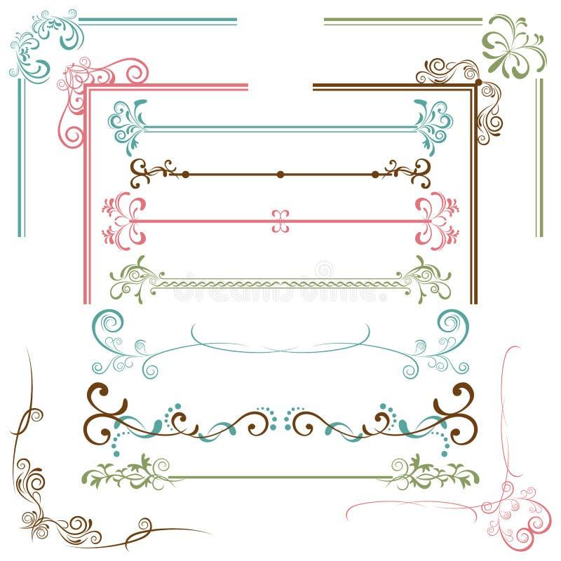 комплект элементов конструкции бесплатная иллюстрация