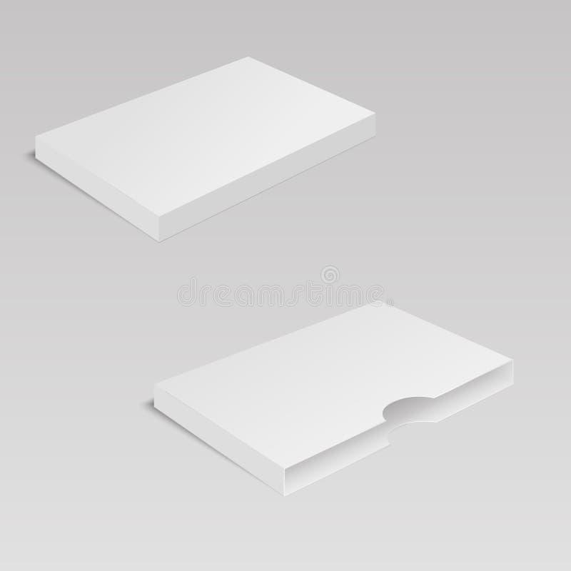 Комплект ясной коробки ремесла также вектор иллюстрации притяжки corel бесплатная иллюстрация