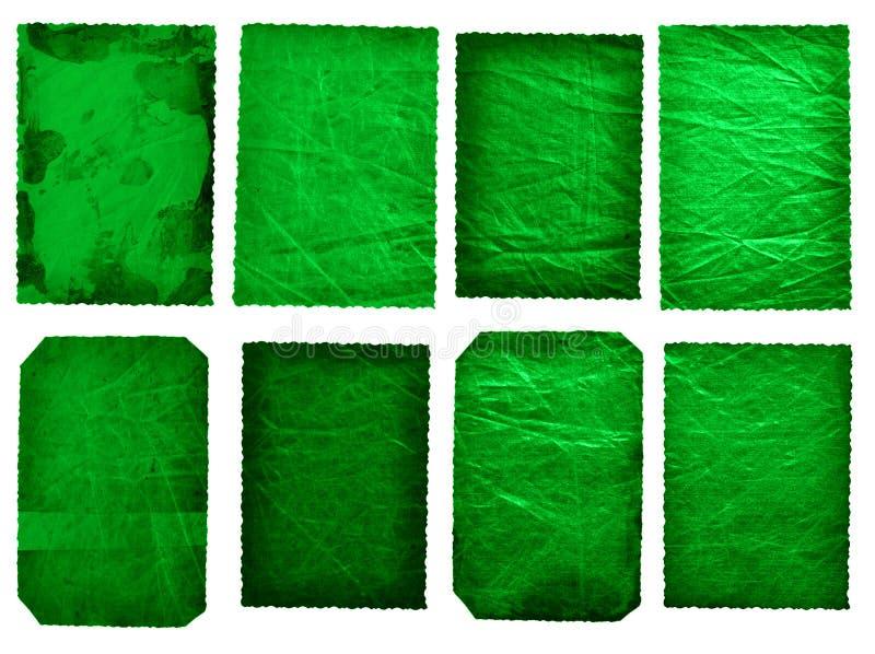 комплект 8 античный карточек иллюстрация вектора