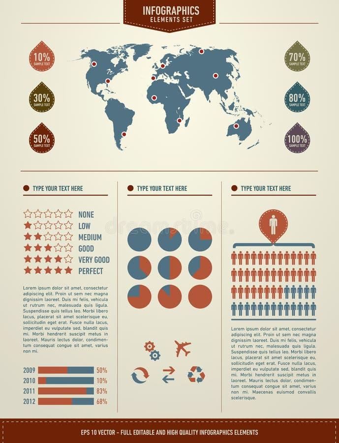 комплект infographics элементов