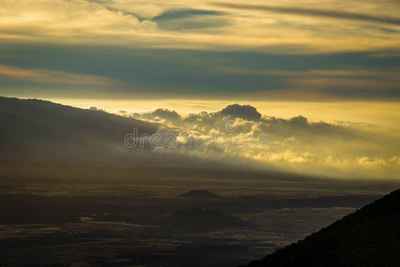 Комплект Mauna Kea стоковые фотографии rf