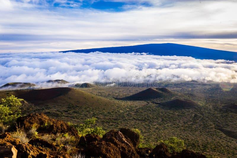 Комплект Mauna Kea стоковая фотография rf