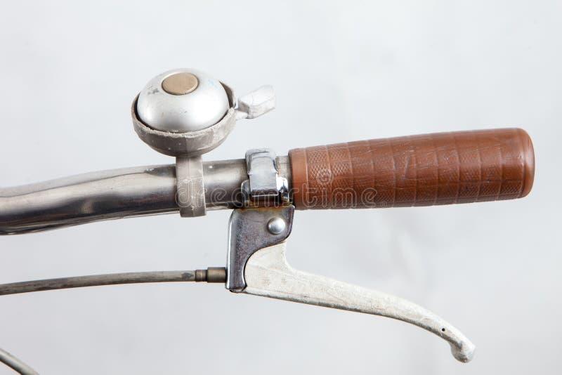 Компоненты старого велосипеда стоковое изображение rf