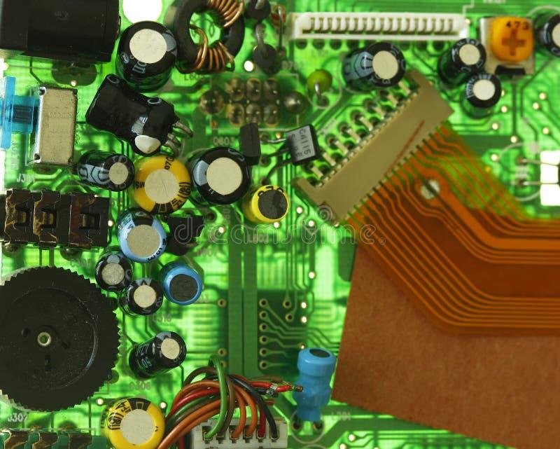 компоненты цепи доски стоковая фотография