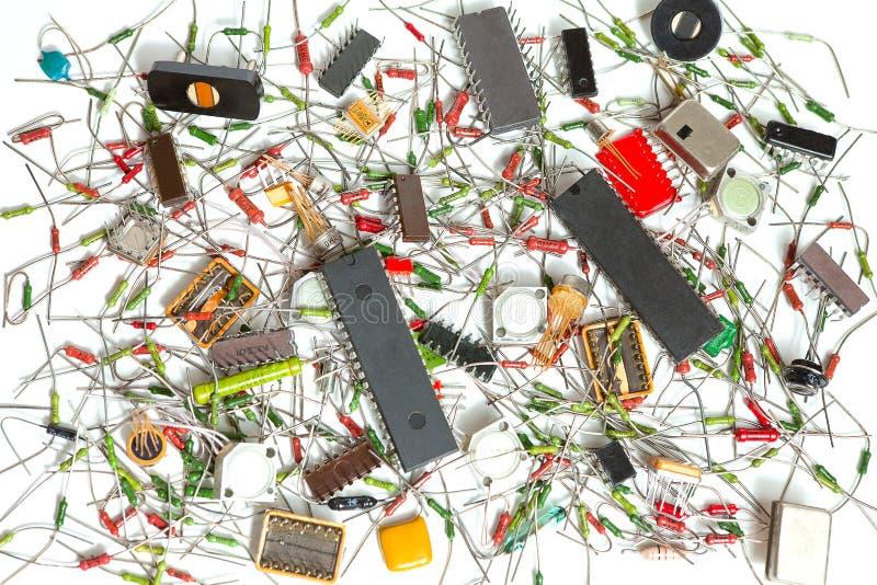 компоненты электронные стоковые фотографии rf